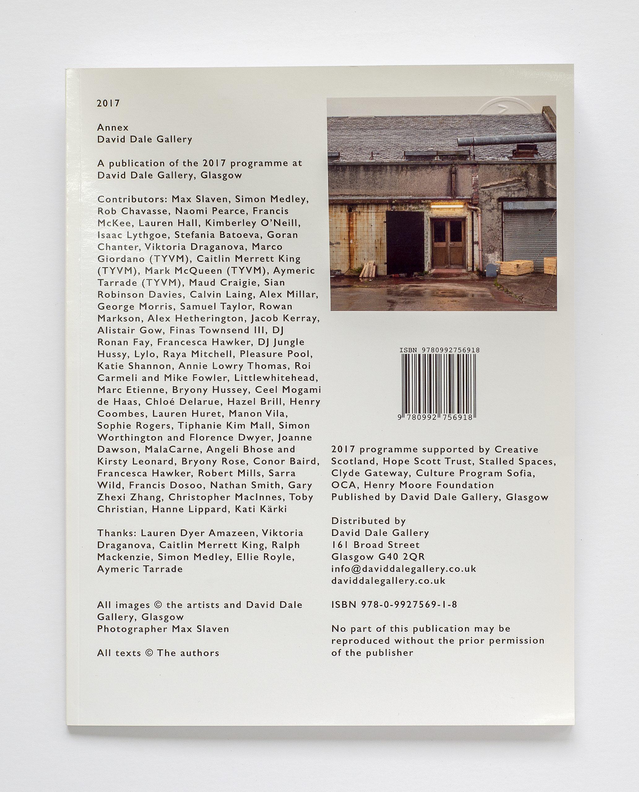 Annex Publication