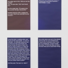 Phanos Kyriacou, FATHERFATHER / SPOKEN, 15 text posters