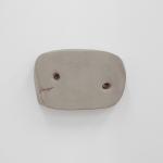Jo Addison, <em>Clay Thing</em>, 2011, air-drying clay, screws, gouache