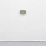 Jo Addison, Clay Thing, 2011, air-drying clay, screws, gouache