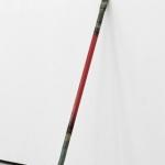 Tom Godfrey, Untitled (Hypotenuse), 2013, straightened crow bar