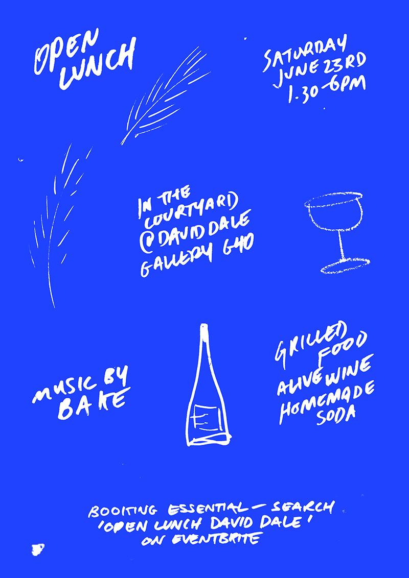 Blue-BG-Open-Lunch-scribble-poster